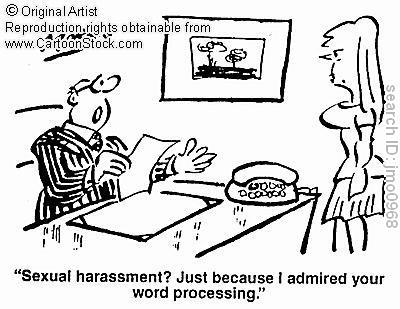 False complaints fo sexual harassment of women